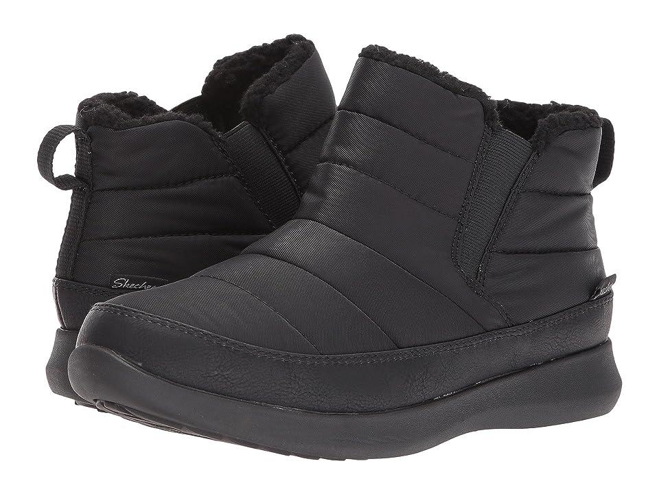 size 40 282d9 17208 ... SKECHERS Boulder World Traveler (Black Black) Women s Cold Weather Boots  ...