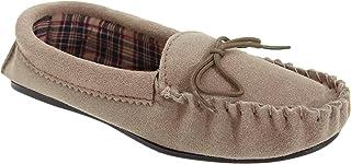 (モッカーズ) Mokkers レディース アマンダ タータン裏地 モカシンスリッパ 婦人靴 ルームシューズ 室内履き 女性用