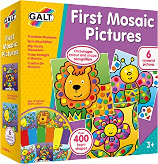 Galt Toys, First Mosaic Pictures, Childrens Creative Activity Sets, Ages 3 Years Plus
