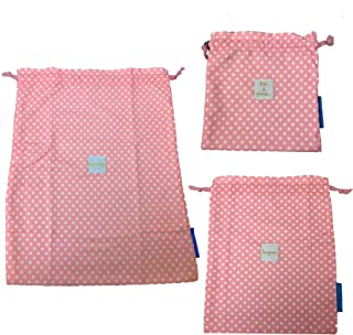 On the Go Bags (Happy Dots Coral)