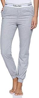 Calvin Klein Women's 000QS5934E-Grey Pants