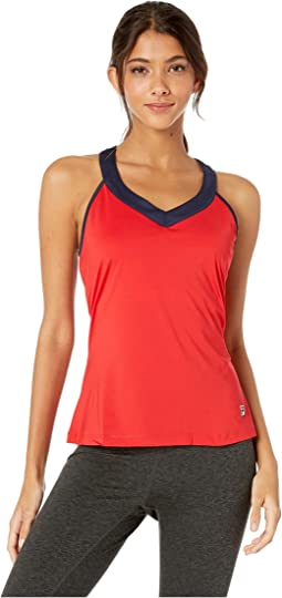 Chinese Red/Navy