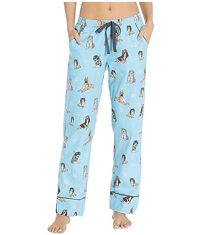 P.J. Salvage Chelsea Sleep Pants (Dusty Blue) Women