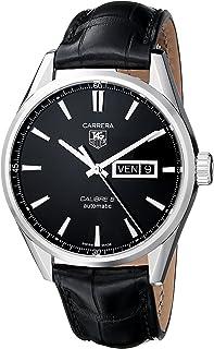 TAG Heuer - eysse-Reloj de Pulsera analógico rhöna Cuero WAR201A, FC6266