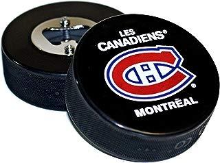 EBINGERS PLACE Montreal Canadiens Basic Logo Hockey NHL Puck Bottle Opener