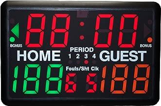 Trigon Sports Multi-Sport Indoor Tabletop Scoreboard & Timer