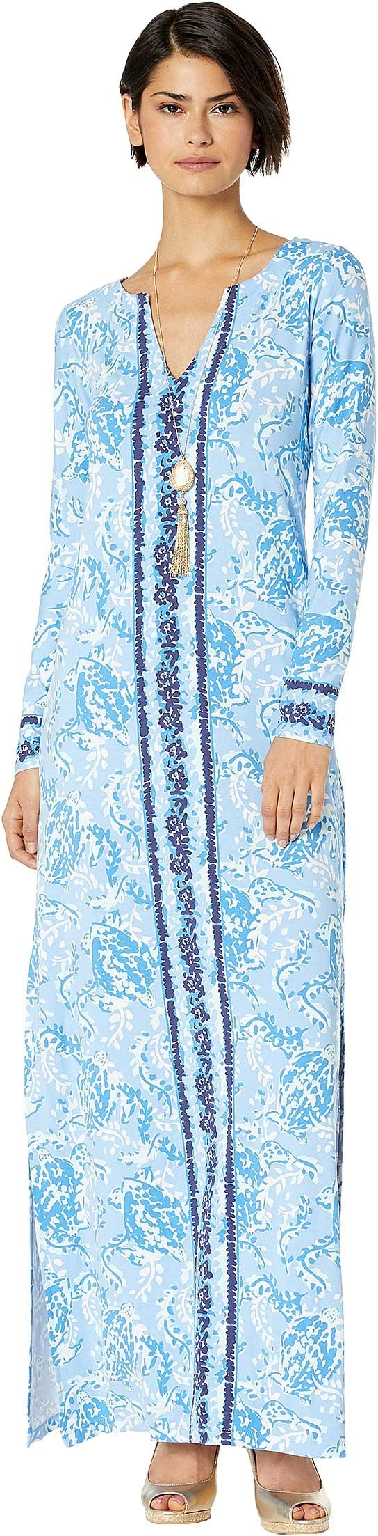 05a0bcbd017818 Wallis Petite Blue Floral Maxi Dress