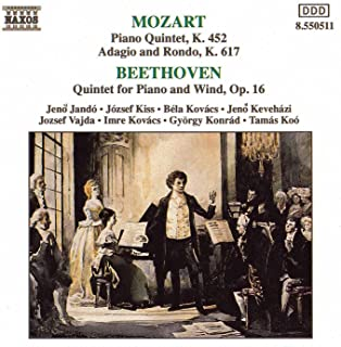 Mozart: Piano Quintet In E Flat Major / Beethoven: Piano Quintet In E Flat Major