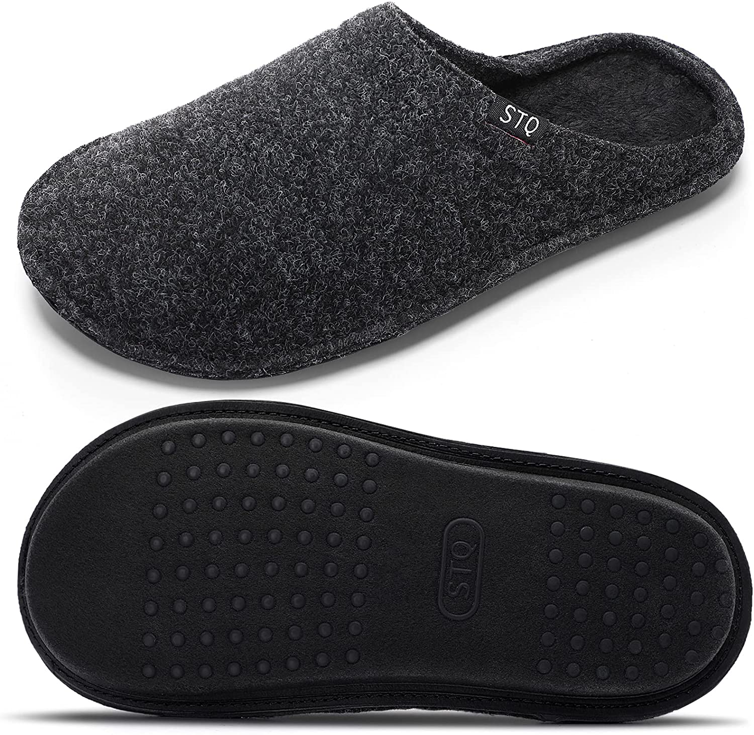 STQ Women's Elegant Classic Slippers Slip on Warm Shoes Cozy and online shopping House