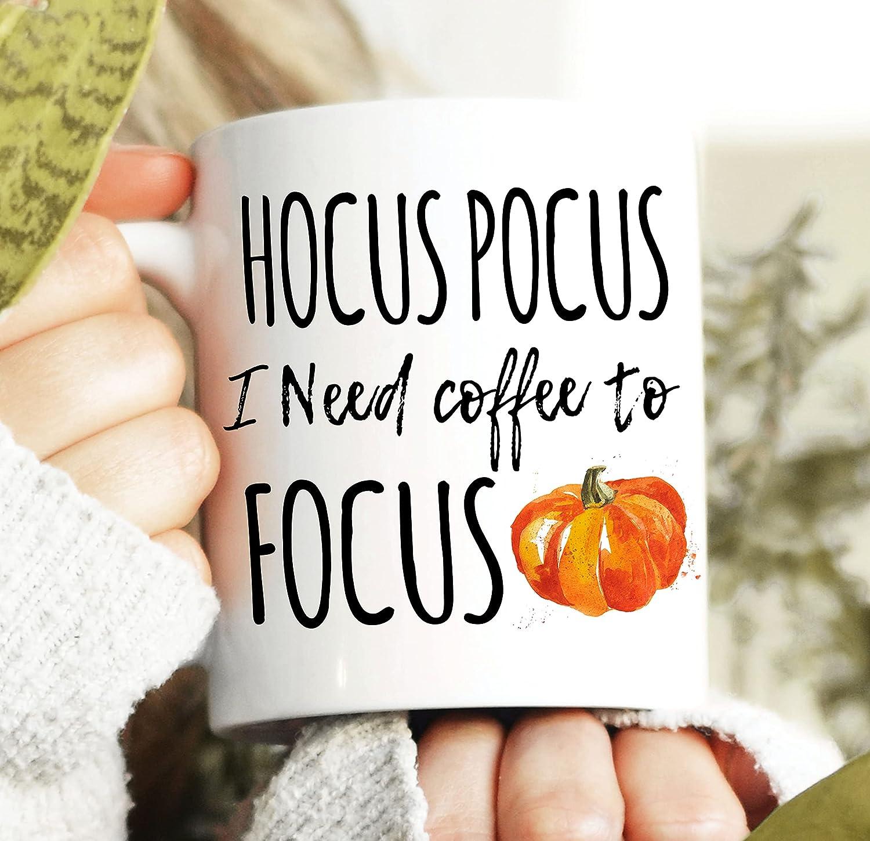 Hocus Challenge the lowest New item price of Japan Pocus I need Coffee Focus Mug Halloween Witch to
