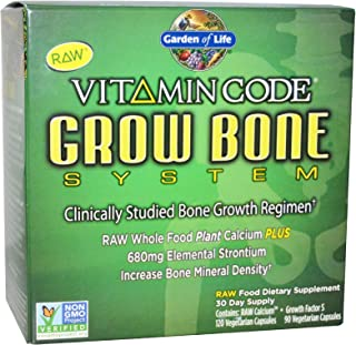 Garden of Life Vitamin Code Grow Bone 2-pack 60 day supply