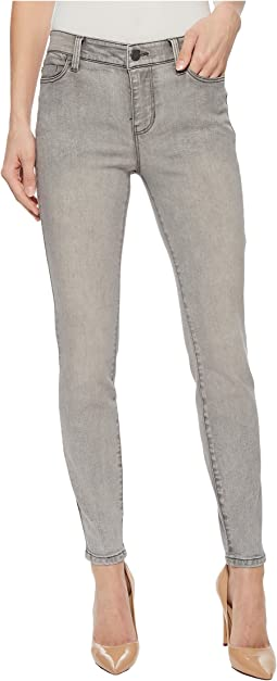 Penny Ankle Skinny in Soft Stretch Denim in Ashville