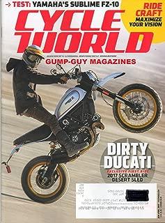 Cycle World America's Leading Motorcycle Magazine 2017 SCRAMPLER DESERT SLED ROM DUCATI Test: Yamaha's Sublime FZ-10 BMW R nineT SCRAMBLER Honda CFR450R