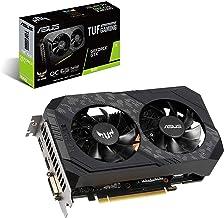 Asus TUF Gaming GeForce GTX 1660 Overclocked 6GB Dual-Fan Edition HDMI DP DVI Gaming Graphics Card (TUF-GTX1660-O6G-Gaming)