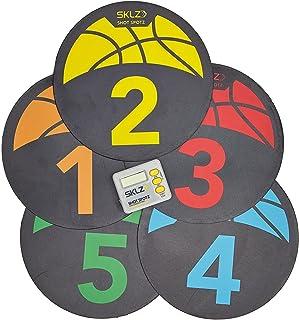 SKLZ Basketball Shot Spotz. Basketball Training Markers and Game Set