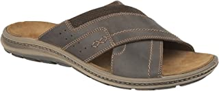 IMAC Mens Crossover Mule Sandals