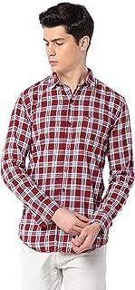 Men Cotton Casual Multi Color Check Shirt