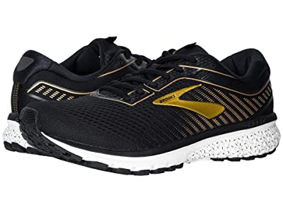 Brooks Ghost 12 (Black/Gold) Men