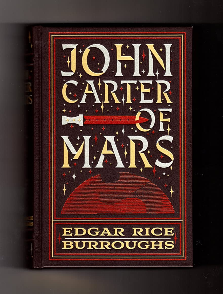 John Carter of Mars The First Five Novels - Leatherbound