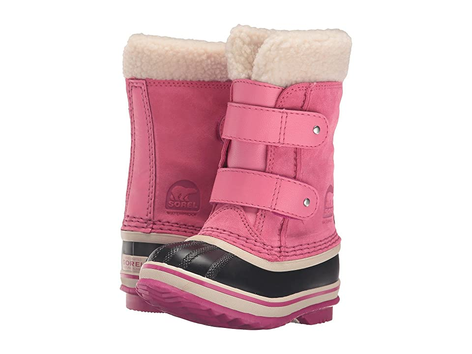 SOREL Kids 1964 Pac Strap (Toddler/Little Kid) (Tropic Pink) Girls Shoes