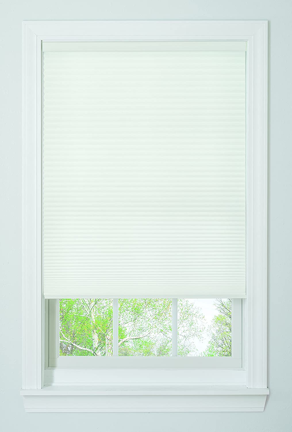 Amazon Com Bali Blinds Cordless Light Filtering Cellular Shade 23 X 64 White Home Kitchen