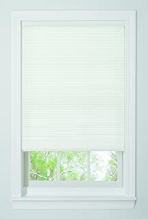 37W x 64L Inches White DEZ Furnishings QEWT370640 Cordless Blackout Cellular Shade
