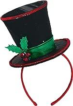 frosty top hat headband