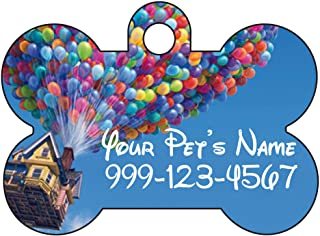 Disney Balloon House Personalized Number