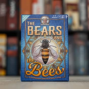 Grandpa Beck's The Bears and The Bees Card Game | A Fun & Strategic Tile-Placement Card Game | Enjoyed by Kids, Teens...