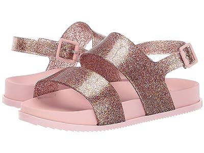 Mini Melissa Mel Cosmic Sandal (Little Kid) (Glossy Pink) Girls Shoes
