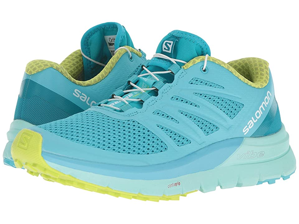 Salomon Sense Pro Max (Blue Curacao/Beach Glass/Acid Lime) Women's Shoes