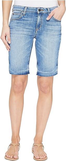 Finn Mid-Rise Bermuda Shorts in Yenz