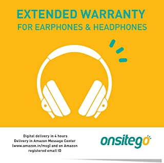 Onsitego 1 Year Extended Warranty for Earphones and Headphones (Rs. 30,001 to Rs. 40,000) (Email Delivery in 2 Hours)