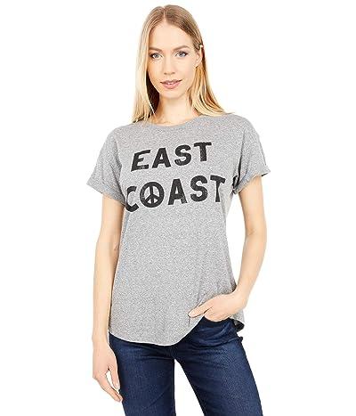 The Original Retro Brand East Coast Rolled Short Sleeve Slub Tee