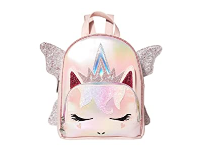 OMG! Accessories Metallic Sugar Glitter Fairy Queen Mini Backpack (Pink) Backpack Bags
