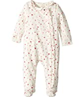 Kate Spade New York Kids - Ruffle Front Footie (Infant)