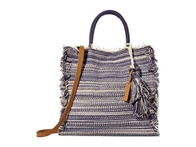 Lucky Brand Khim Tote (Blue Multi) Handbags
