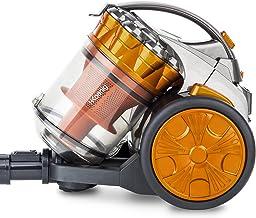 H.Koenig Aspirateur sans sac Multicyclonique traineau Compact+ orange STC60, Classe énergétique AAA, filtre HEPA, Silencie...