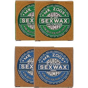 SEXWAX(セックスワックス) サーフィン ワックス クイックハンプス 3X 6X 各2個セット
