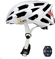 Mymfi Lumex PRO, Casco da Bicicletta Intelligente. Unisex Adulto