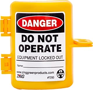 ZING 7293 RecycLockout Lockout Tagout, Forklift Propane Tank, Recycled Plastic