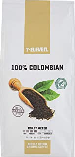 7-Eleven Ground Coffee, Single Bag, 12 Ounce (100% Colombian)