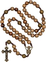 extra large wooden rosary beads