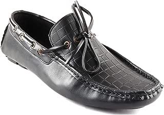 San Frissco Men Black Casual Shoes (Size:- 7 UK)