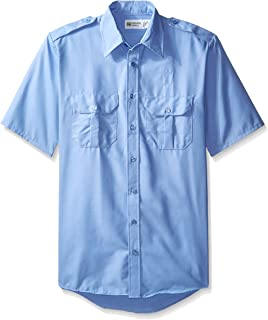 Horace Small Men's Classic Short Sleeve Security Big-Tall Shirt