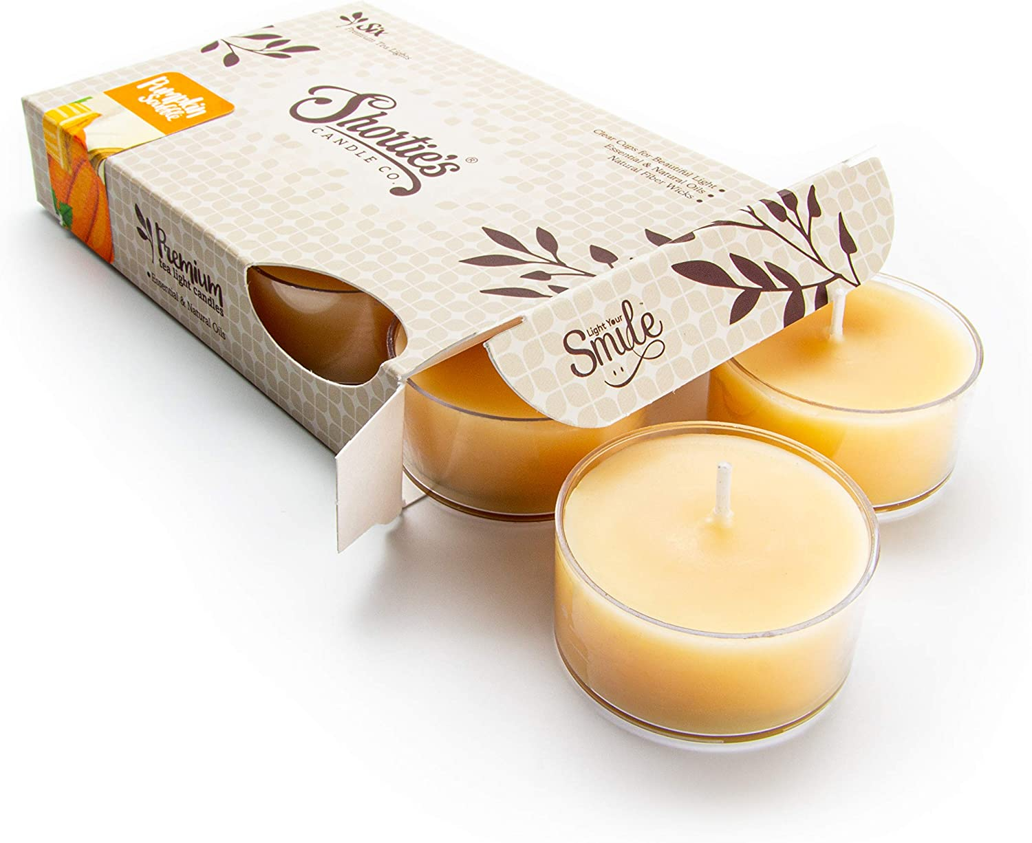 Pumpkin Souffle Tealight Candles - with Ranking TOP16 O Highly Kansas City Mall Scented Natural