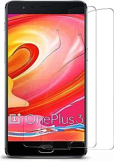 MoEx Clara Protector de Pantalla para OnePlus 3T Transparente 2X Klar OnePlus 3T