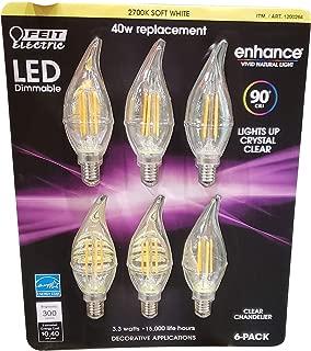 Best feit electric 40 watt led candelabra Reviews