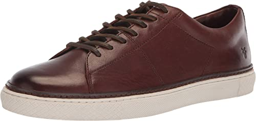FRYE Men's Essex Low Folded Edge Turnschuhe, braun, 7 M M US