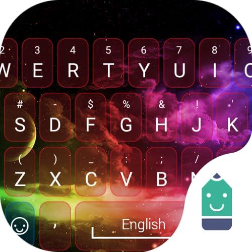 Rainbow Sky Theme&Emoji Keyboard